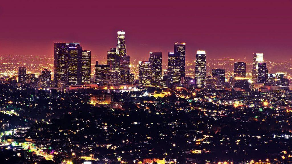 Los Angeles Ca backdrop