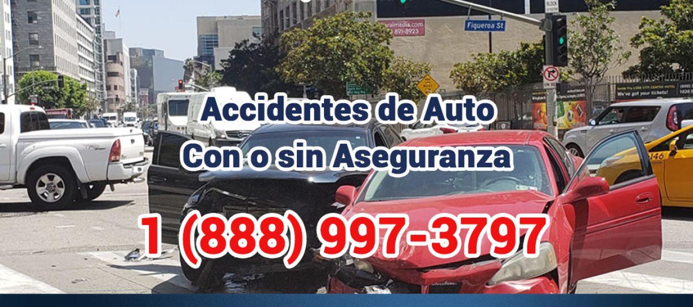 Conductores de vehículos sin seguro o ampliamente cubiertos en Los Angeles