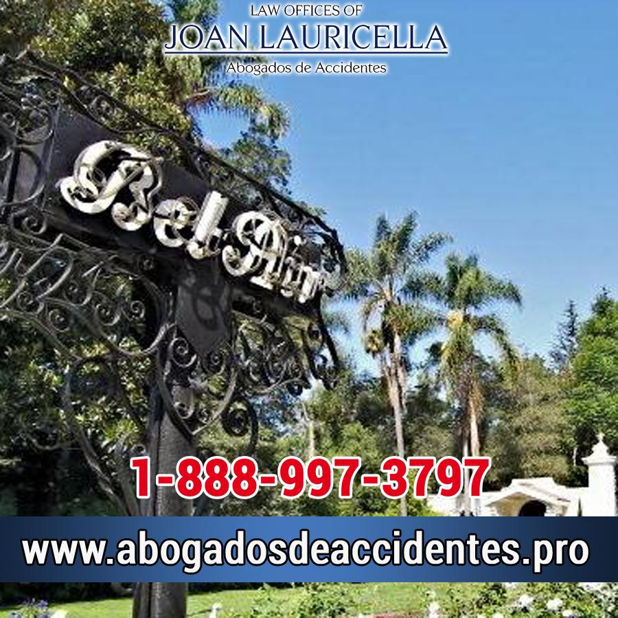 Abogados de Accidentes de Carro en Bel Air Los Angeles,