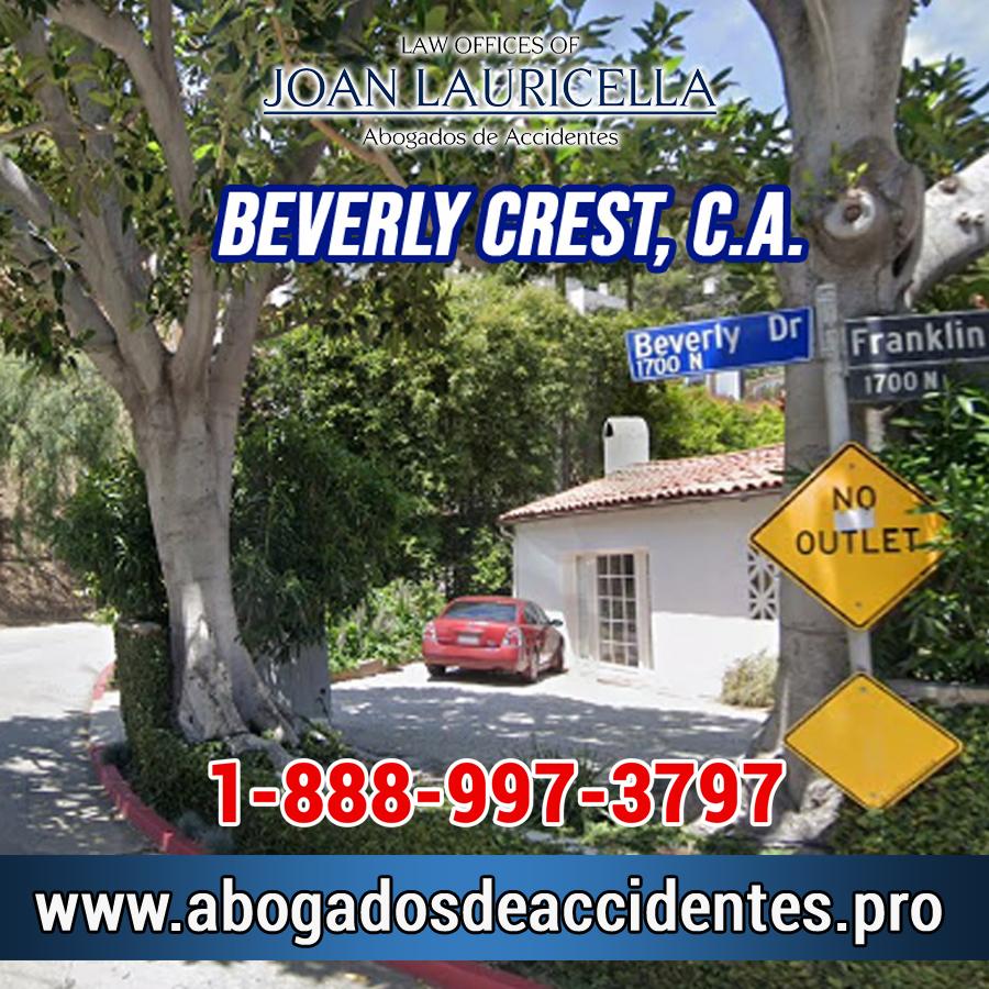 Abogados de Accidentes en Beverly Crest CA