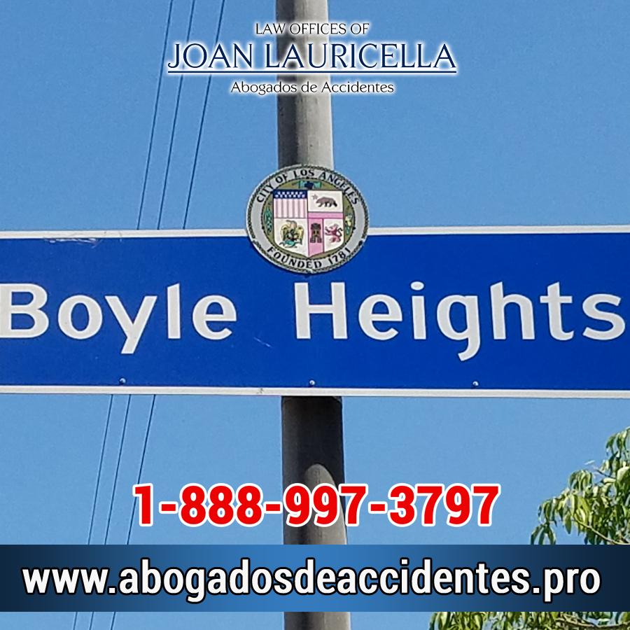 Abogados de Accidentes en Boyle Heights CA