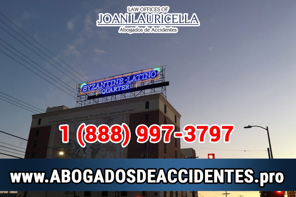 Abogados de Accidentes en Byzantine-Latino Quarter CA