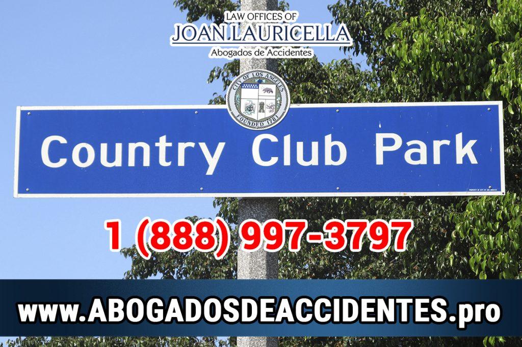 Abogados de Accidentes en Country Club Park CA