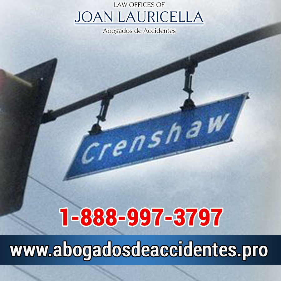 Abogado de Accidentes en Crenshaw CA