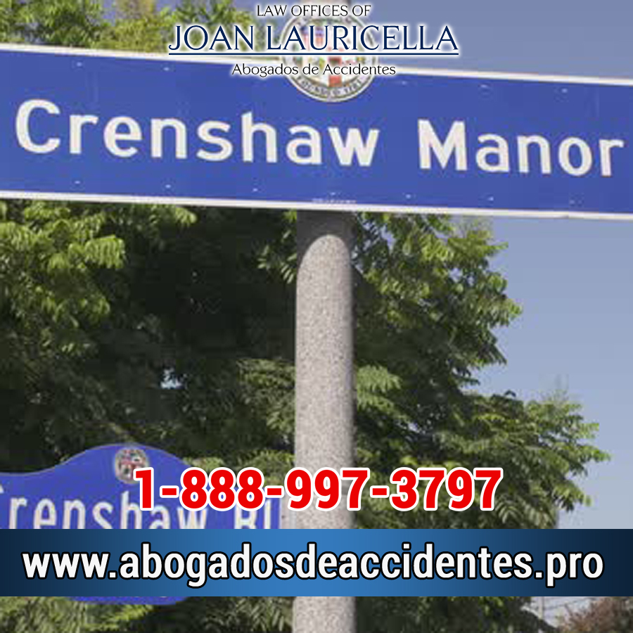 Abogados de Accidentes Crenshaw Manor CA