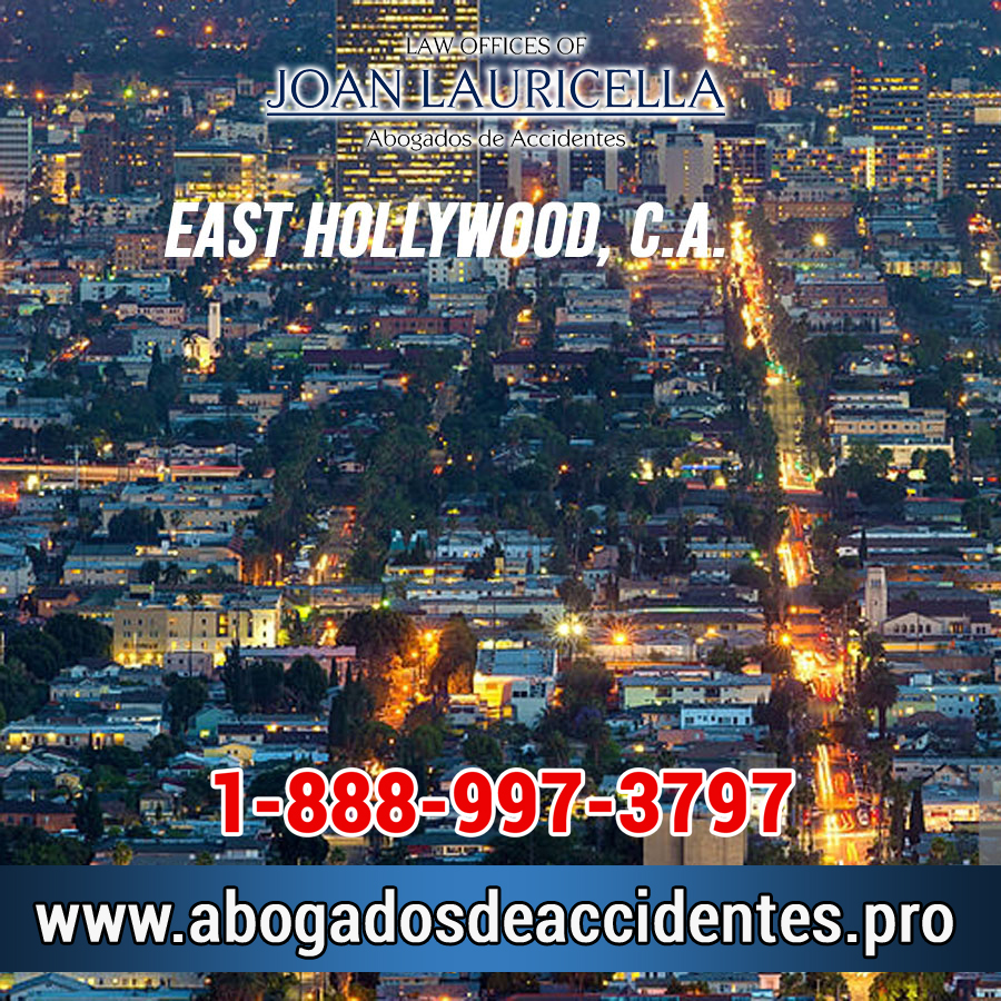 Abogados de Accidentes en East Hollywood CA