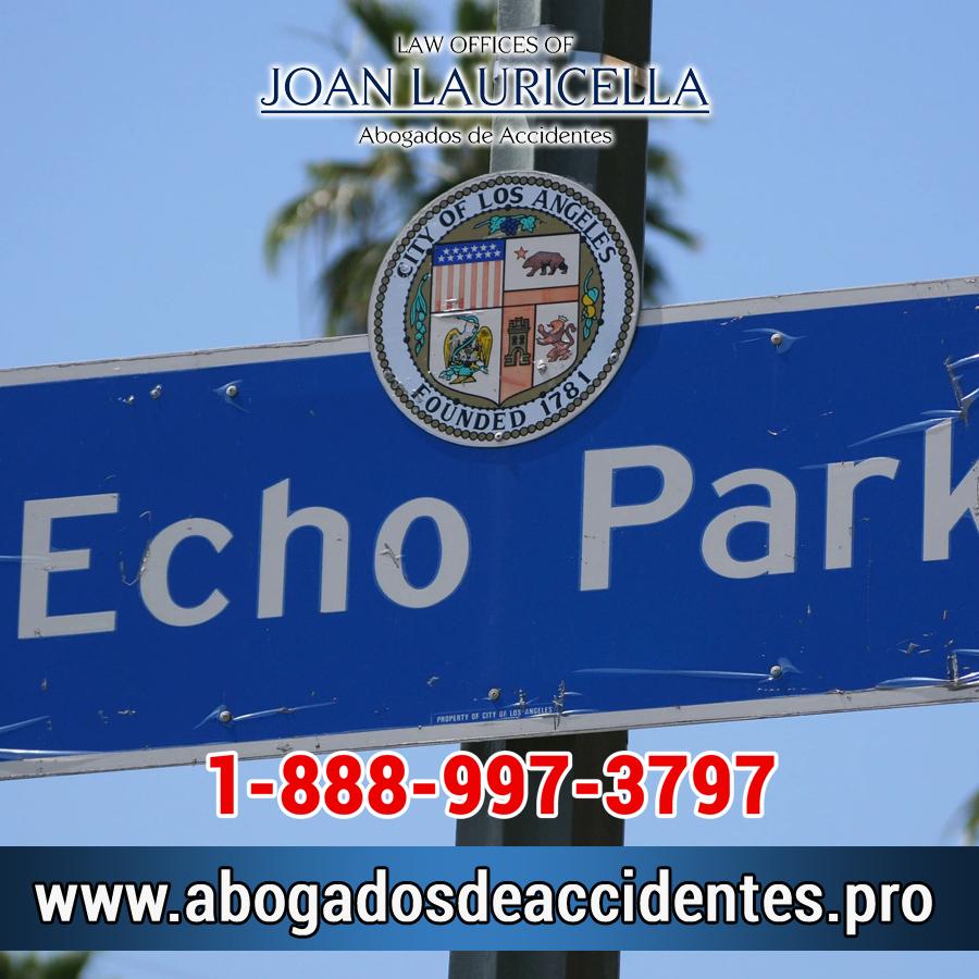 Abogados de Accidentes en Echo Park CA