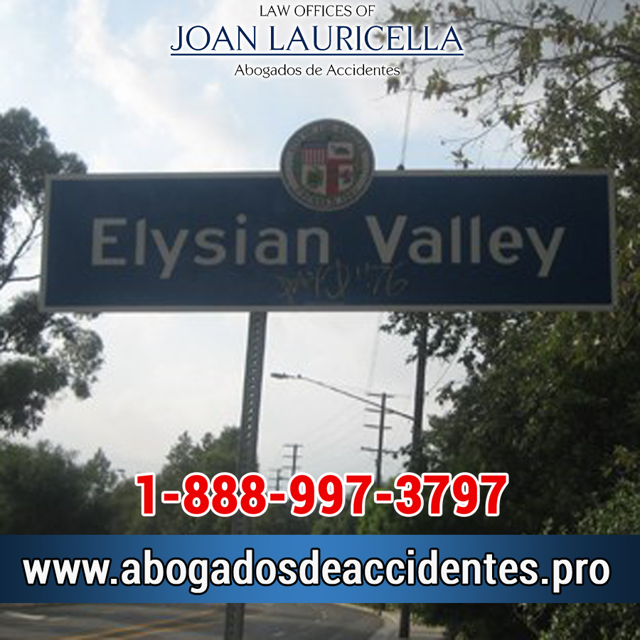 Abogados de Accidentes en Elysian Valley CA
