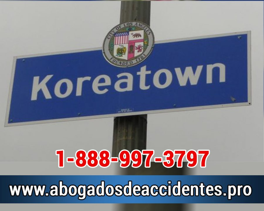 Abogados para Accidente en Koreatown