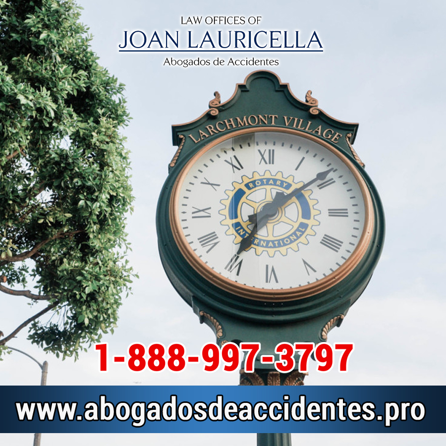 Abogados de Accidentes en Larchmont Village CA