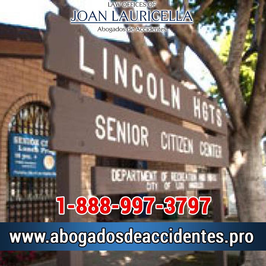 Abogados de Accidentes en Lincoln Heights CA