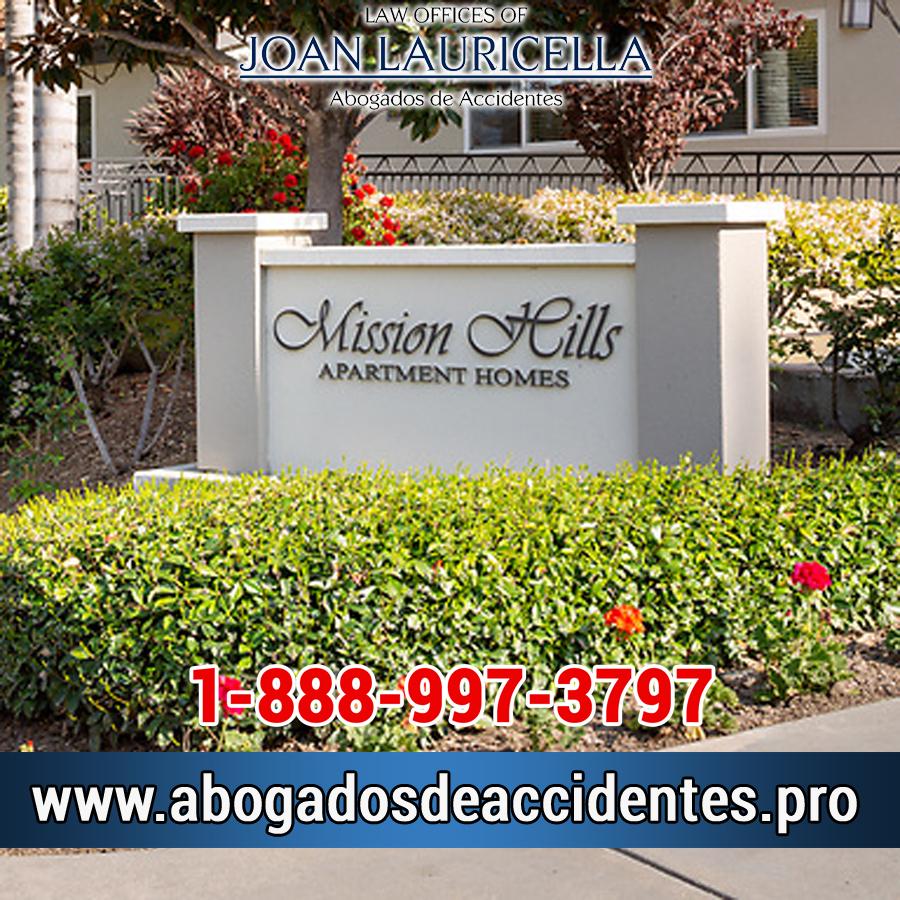 Abogado de Accidente de Auto y Carro en Mission Hills San Fernando Valley
