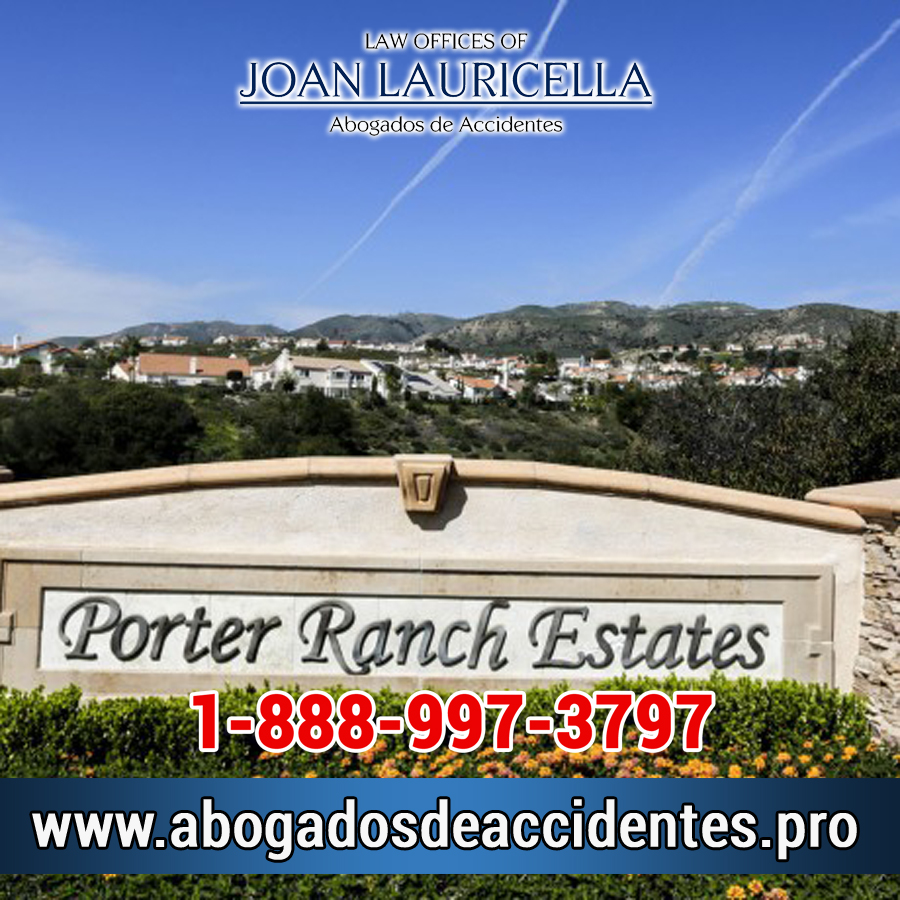 Abogado de Accidentes en Porter Ranch Ca