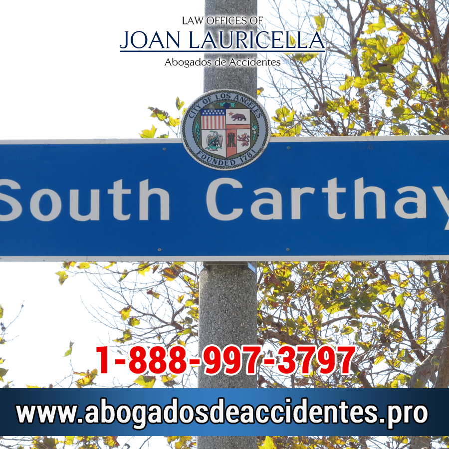 Abogados de Accidentes en South Carthay CA