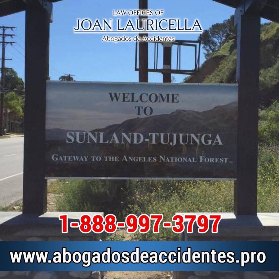Abogado de Accidentes en Sunland Ca