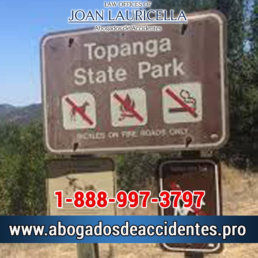 Abogado de Accidentes en Topanga State Park CA