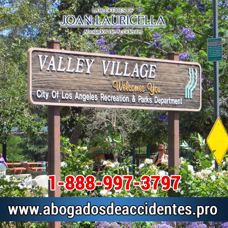 Abogado de Accidentes en Valley Village Ca