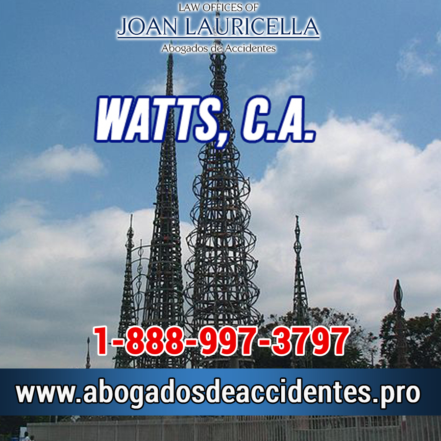 Abogado de Accidentes en Watts CA