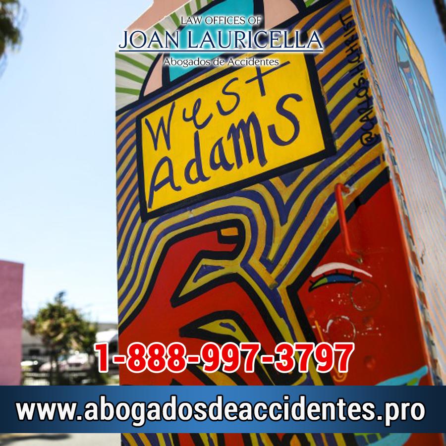 Abogados de Accidentes en West Adams CA