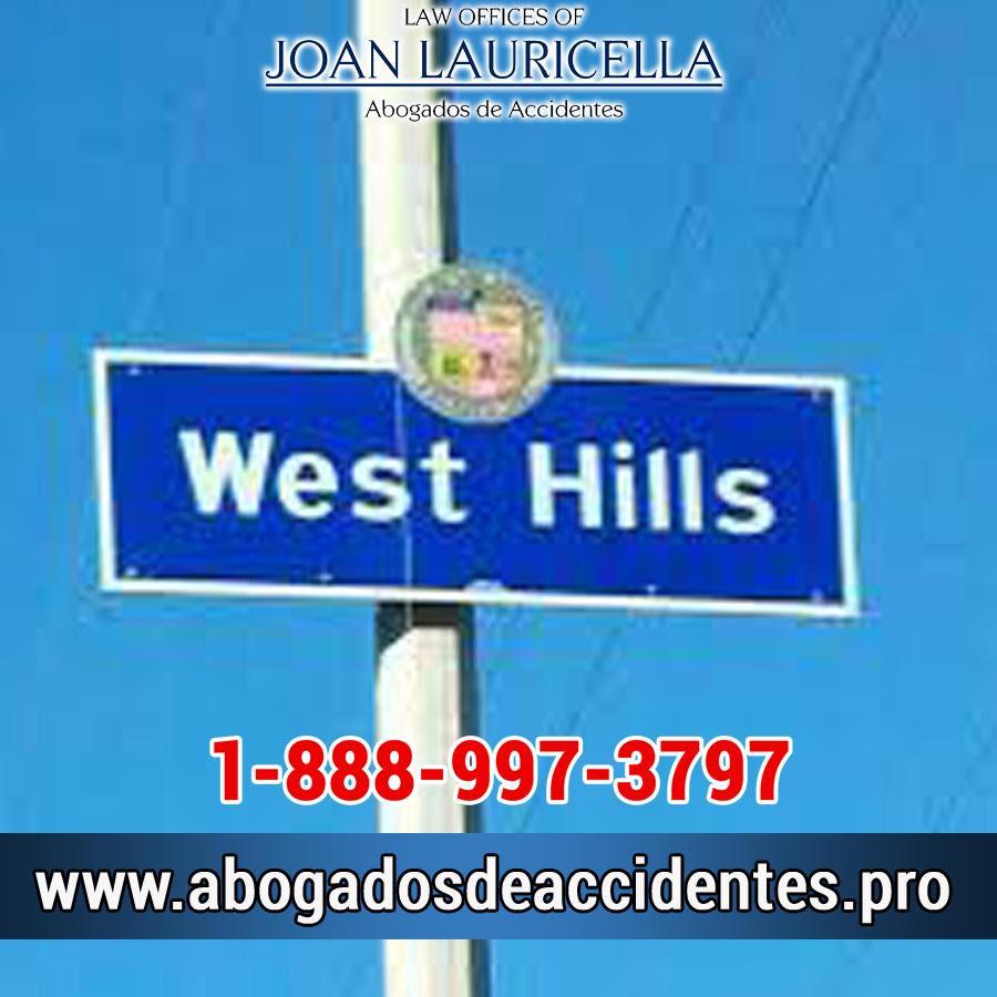 Abogado de Accidentes en West Hills Ca