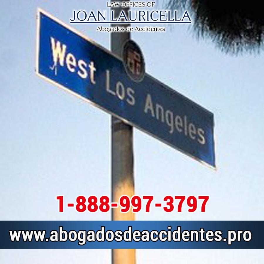 Abogado de Accidentes en West Los Angeles,