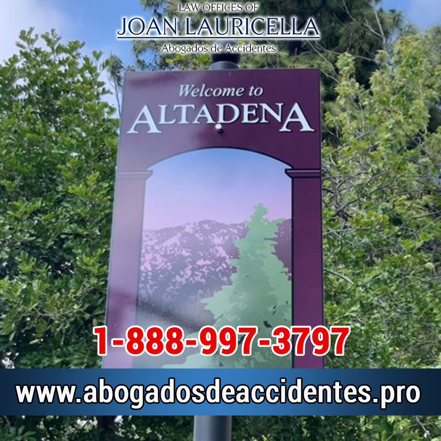 Abogados de Accidentes en Altadena