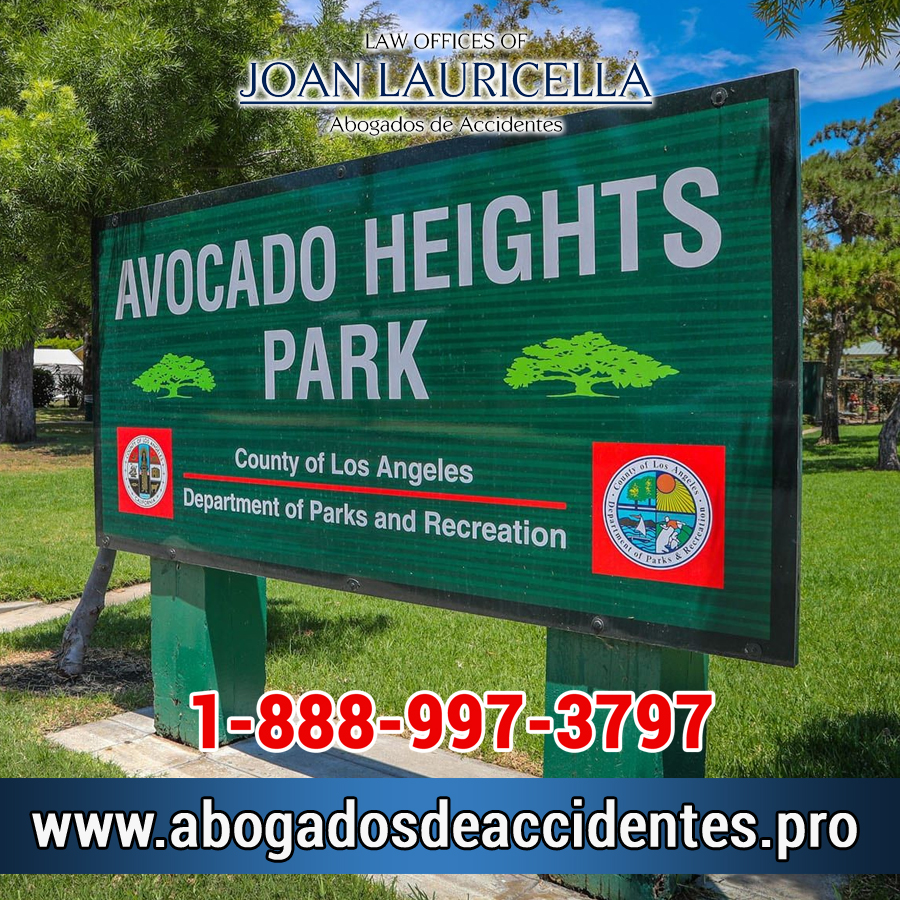 Abogados de Accidentes en Avocado Heights CA
