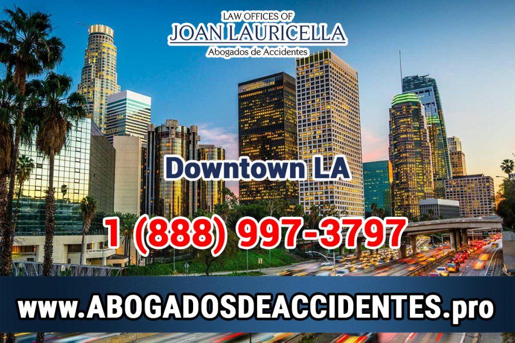 Abogados de Accidentes en Downtown Los Angeles