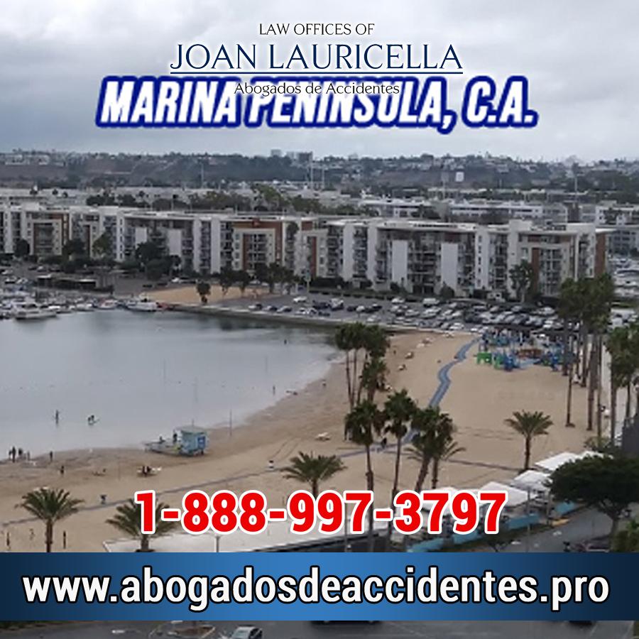 Abogado de Accidentes en Marina Peninsula