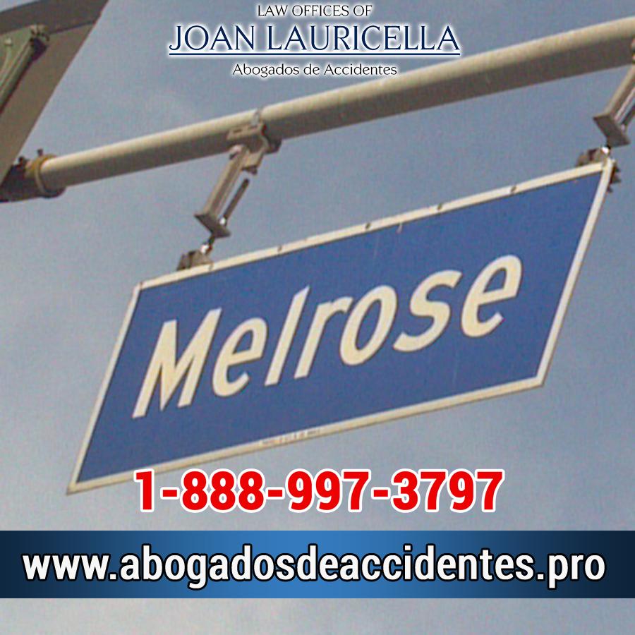 Abogados de Accidentes en Melrose CA