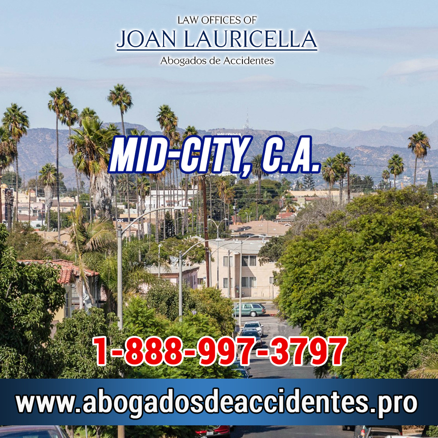 Abogados de Accidentes en Mid-City CA