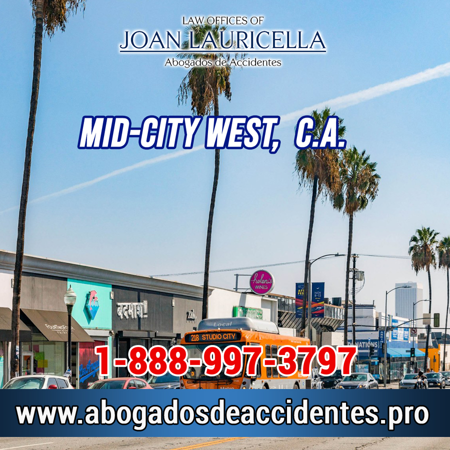 Abogados de Accidentes en Mid-City West CA