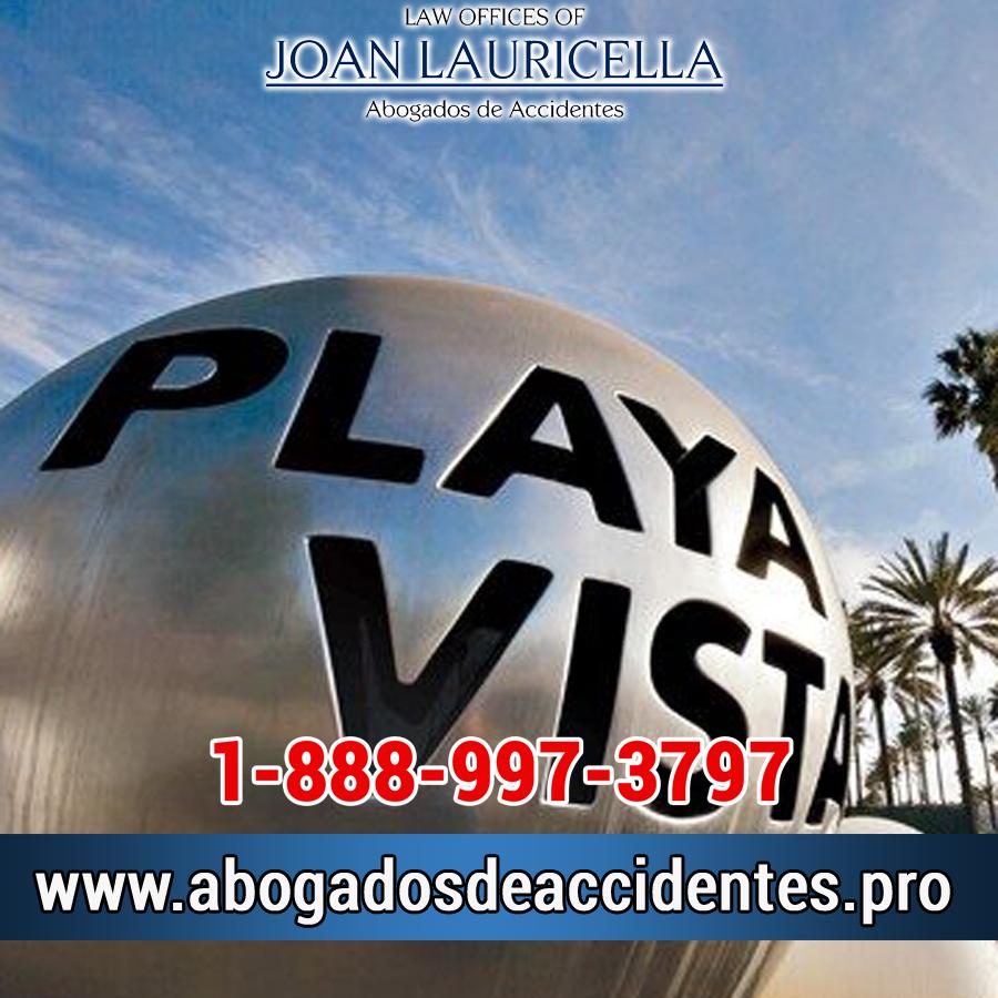 Abogado de Accidentes en Playa Vista