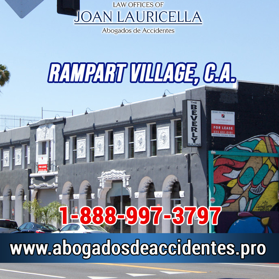 Abogados de Accidentes en Rampart Village CA