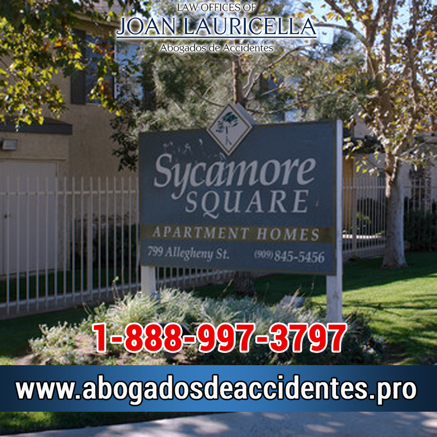 Abogados de Accidentes en Sycamore Square CA