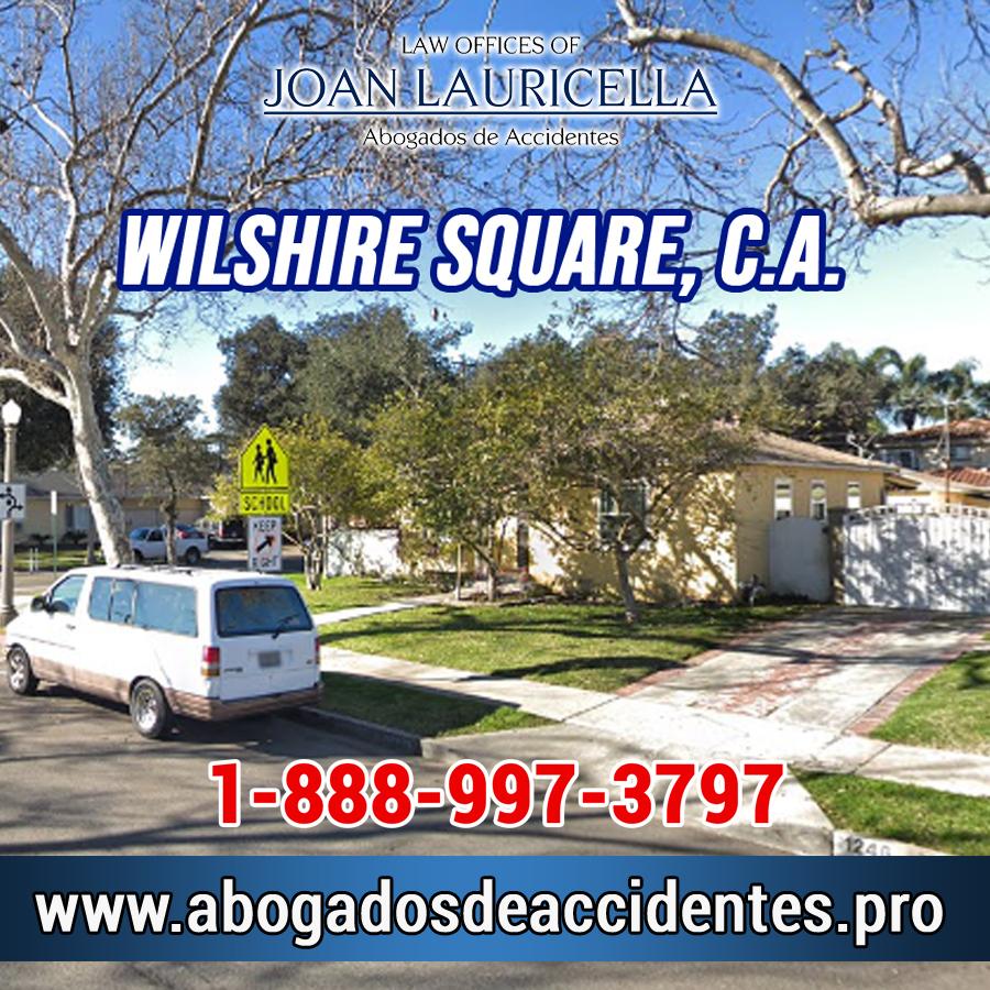 Abogados de Accidentes en Wilshire Square CA