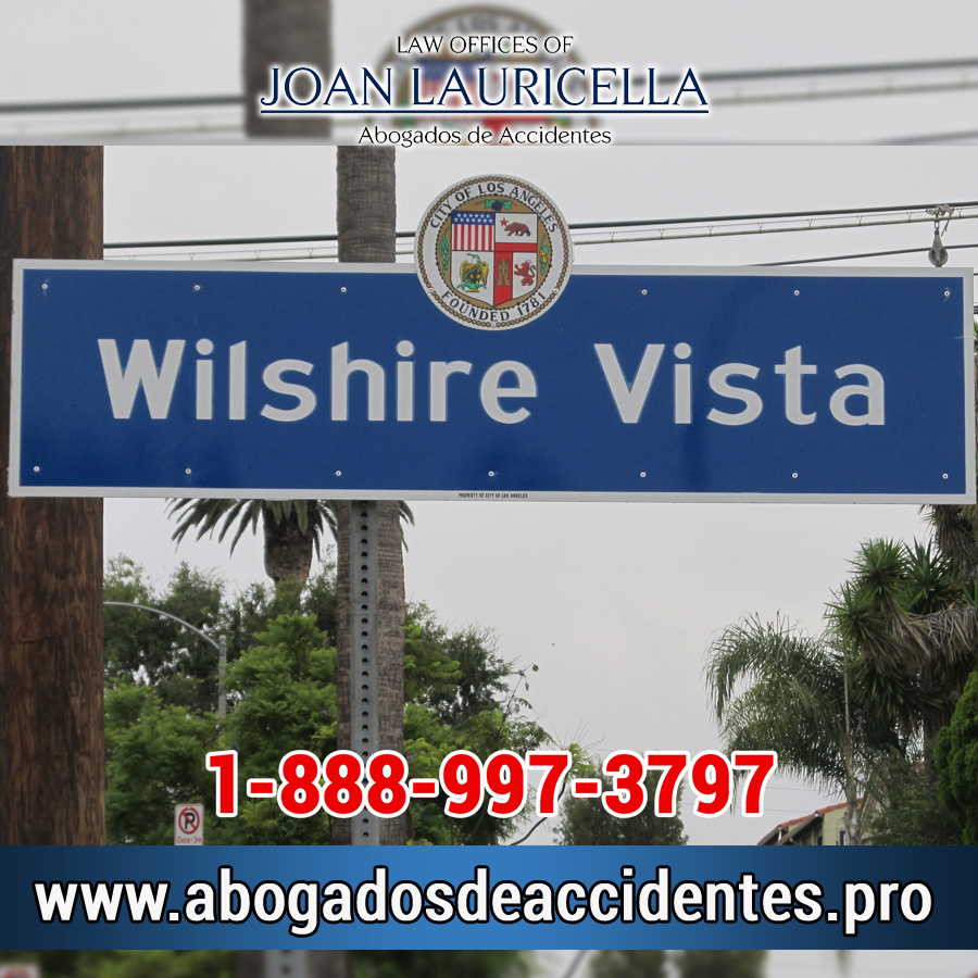 Abogados de Accidentes en Wilshire Vista CA