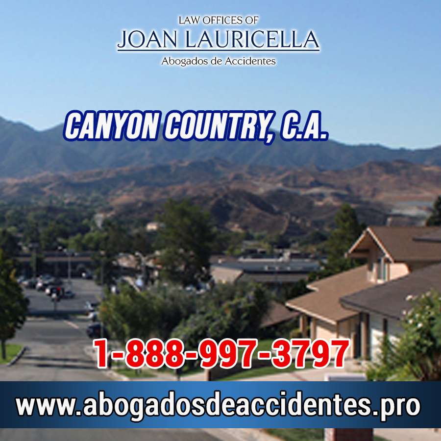 Abogados de Accidentes en Canyon Country