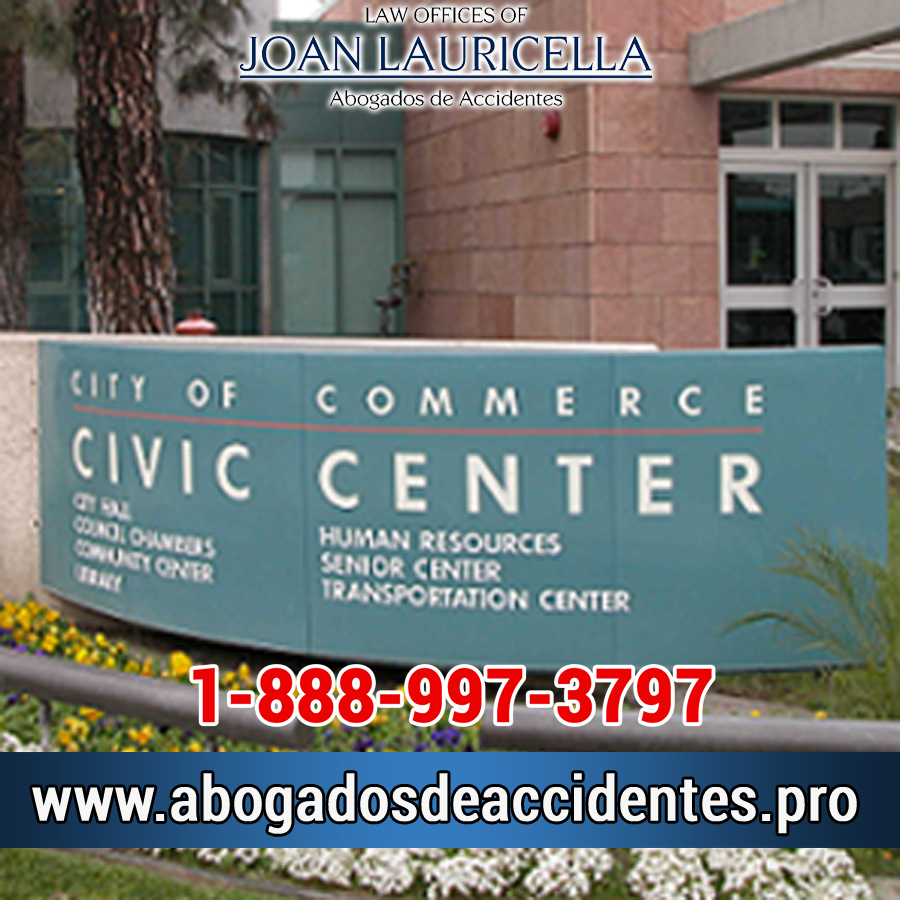 Abogados de Accidentes en Commerce