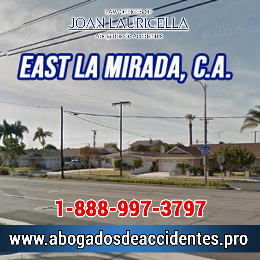 Abogados de Accidentes en East La Mirada