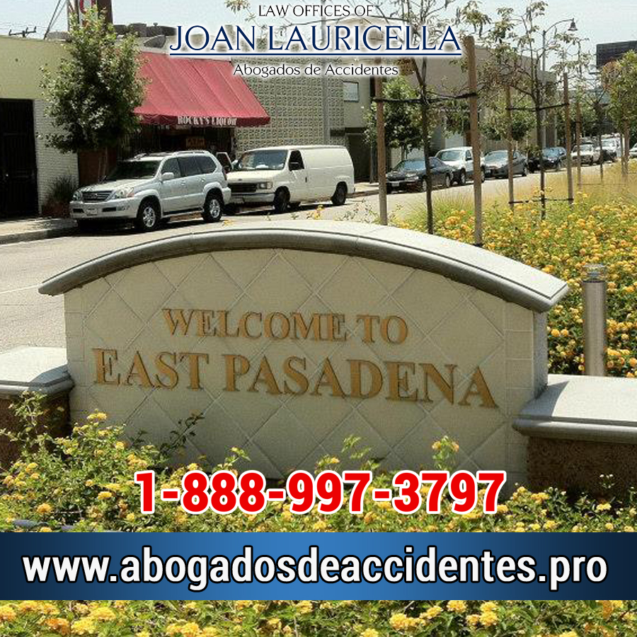 Abogados de Accidentes en East Pasadena