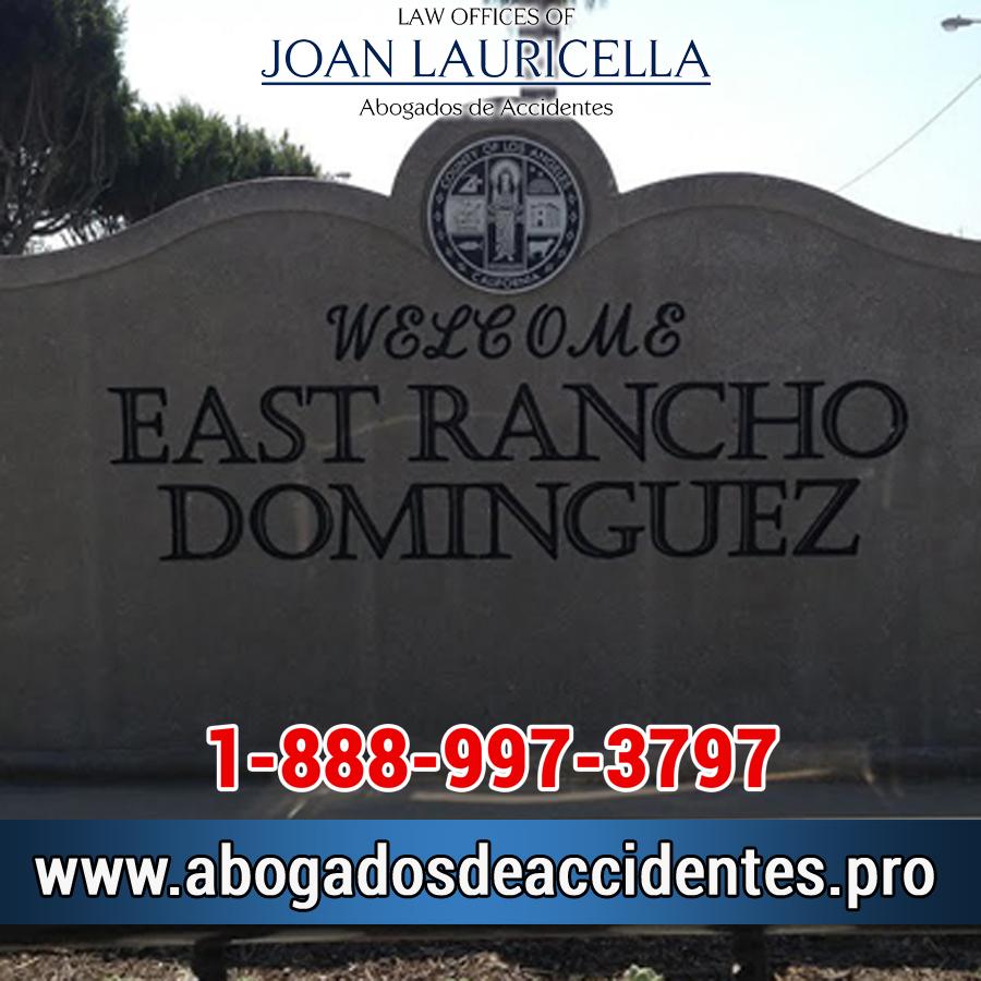 Abogados de Accidentes en East Rancho Domiguez
