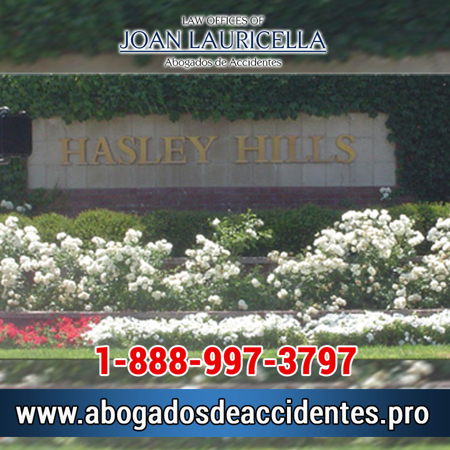 Abogados de Accidentes en Hasley Canyon