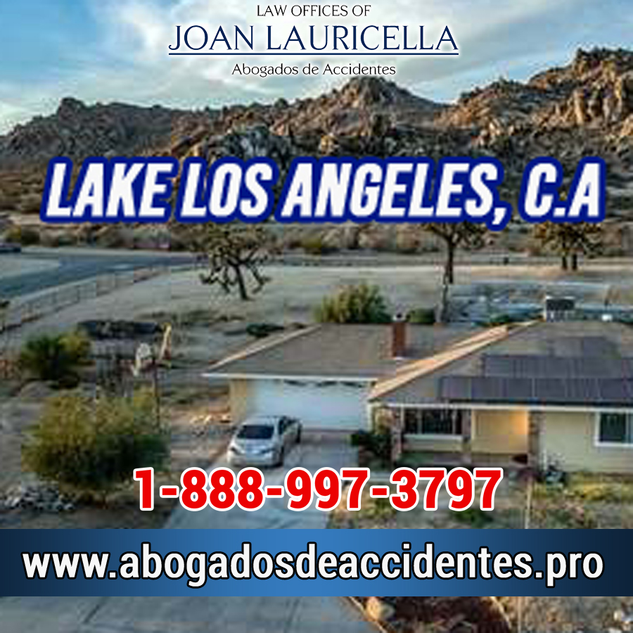 Abogados de Accidentes en Lake Los Angeles