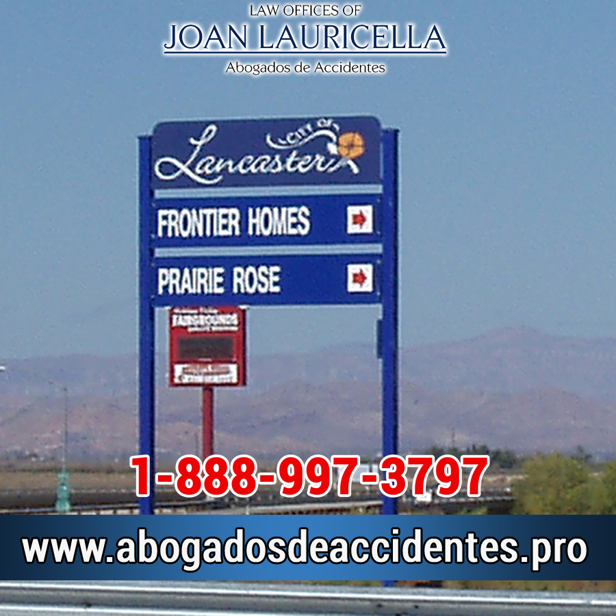 Abogados de Accidentes en Lancaster Los Angeles