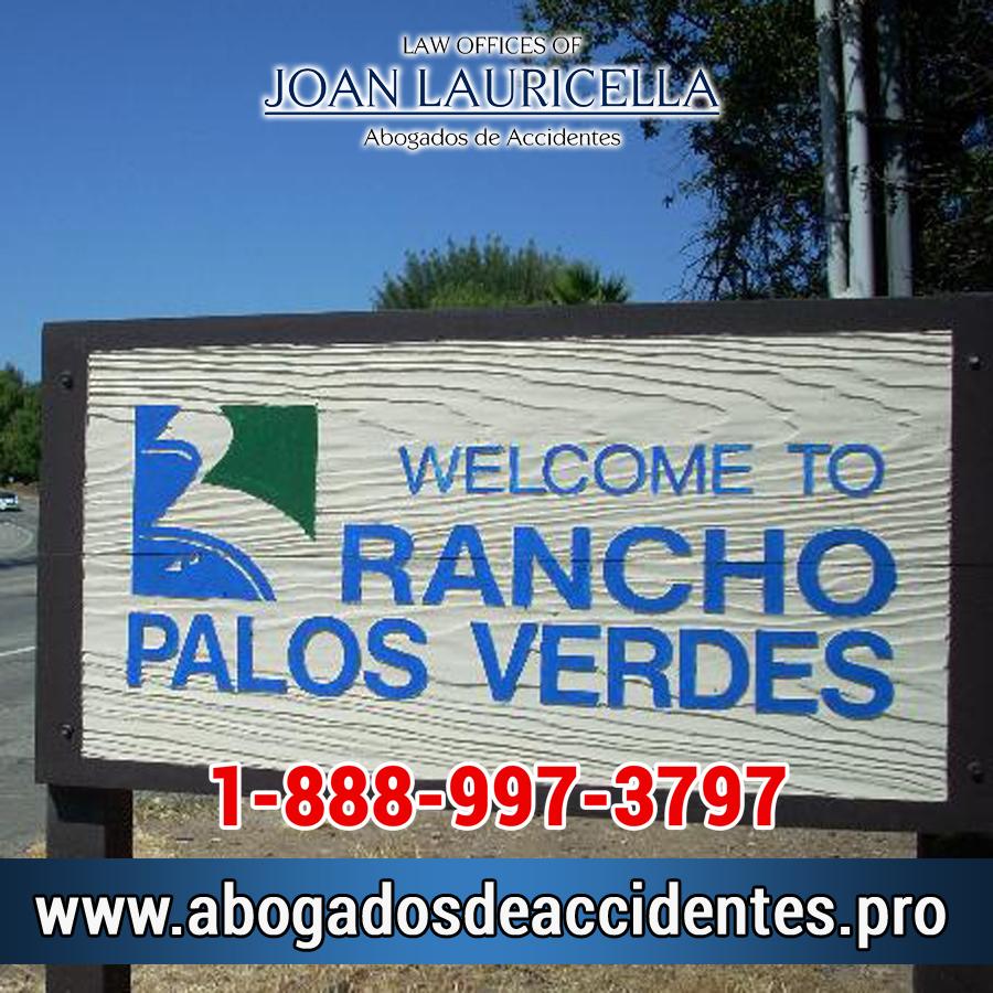 Abogados de Accidentes en Rancho Palos Verdes Los Angeles,