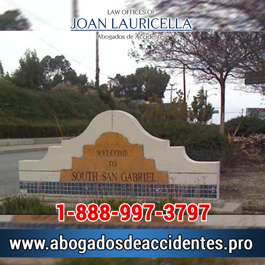 Abogados de Accidentes en South San Gabriel Los Angeles,