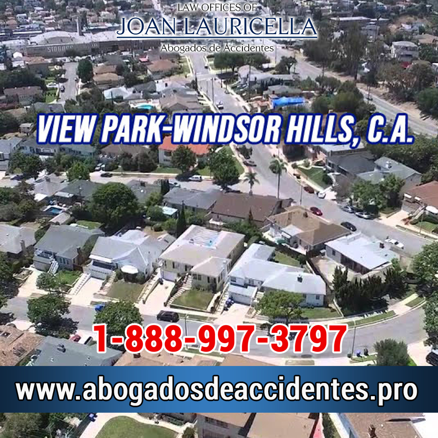Abogados de Accidentes en View Park-Windsor Hills Los Angeles,