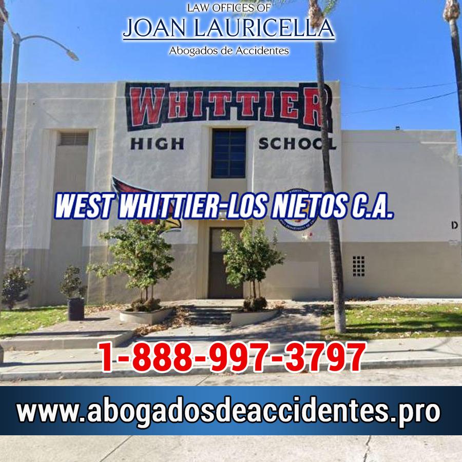 Abogados de Accidentes en West Whittier-Los Nietos Los Angeles,