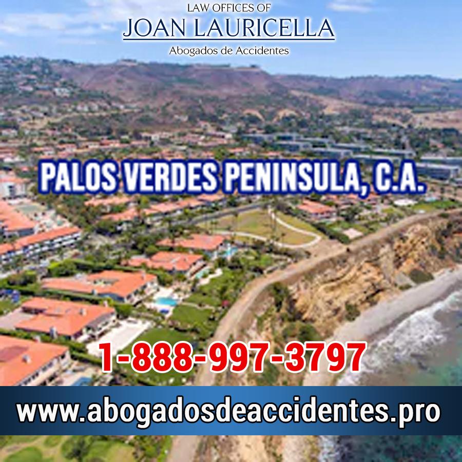 Abogado de Accidentes en Palos Verdes Peninsula Los Angeles,